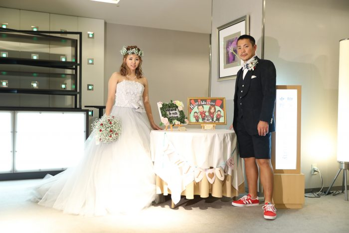 花嫁の声|ホテルオークラ|ウェルカムボード