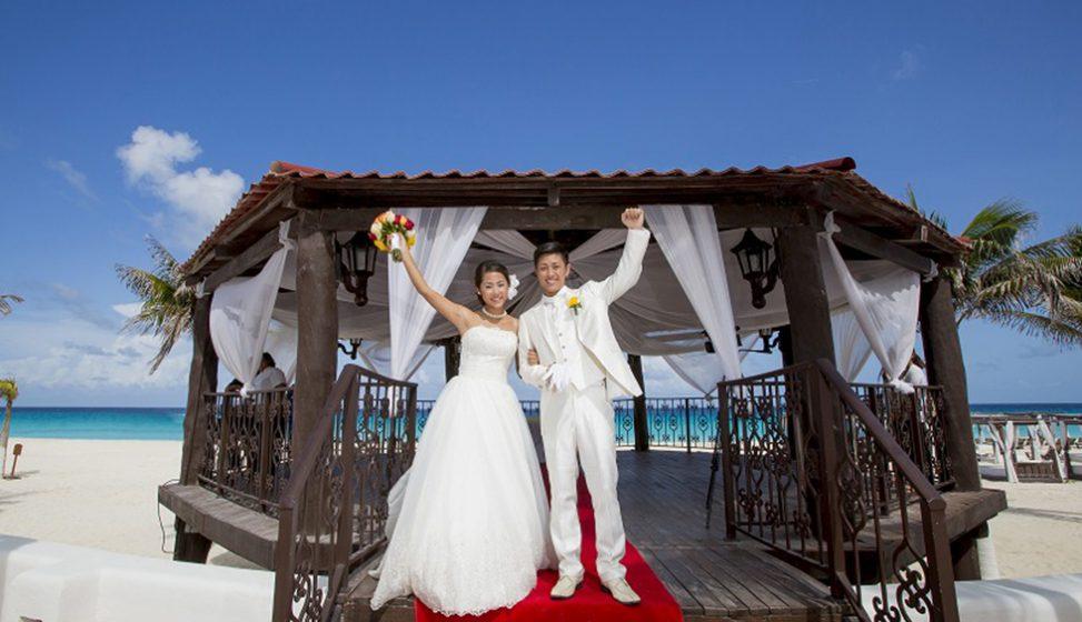 人気リゾート結婚式|ハイアット・ジラーラ・カンクン|A