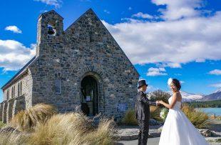 人気リゾート結婚式|善き羊飼いの教会|a