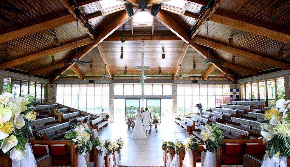 人気リゾート結婚式|キャリバリー・バイ・ザ・シー教会|A