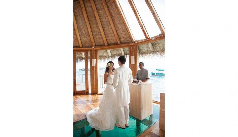人気リゾート結婚式|ギリ・ランカンフシ・モルディブ|C