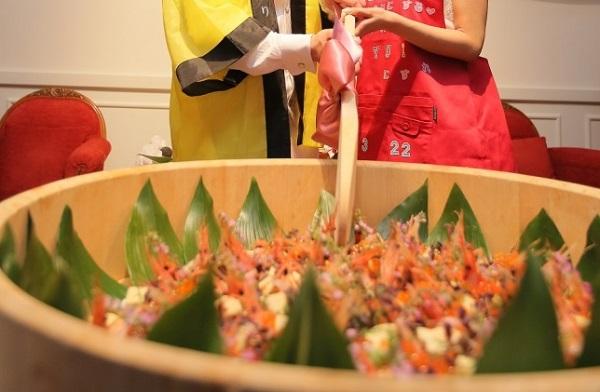 ちらし寿司|ジャルダンドゥボヌール|札幌|結婚式場|幸せの庭|札幌コンシェル