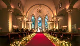 札幌の人気結婚式場 ローズガーデンクライスト教会 A