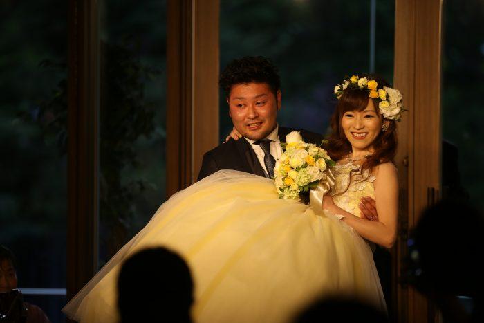 花嫁の声|札幌パークホテル|再入場