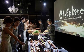 札幌の人気結婚式場|グローヴウィズアクアスタイル|L