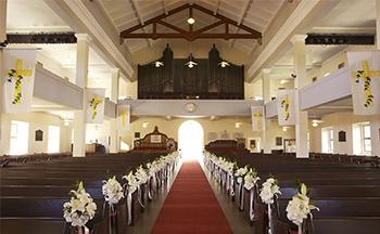 人気リゾート結婚式|カワイアハオ教会|L