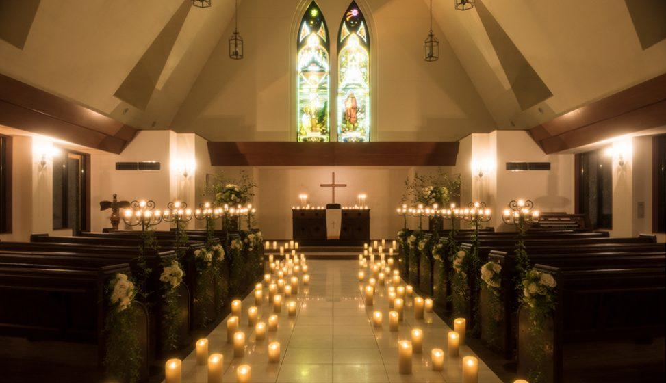 札幌の人気結婚式場|北湯沢緑の森の教会|森のソラニワ|F