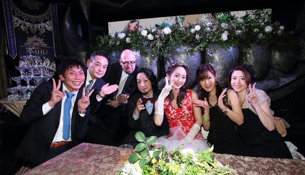 札幌の人気結婚式二次会 KING∞XMHU(キングムー) I