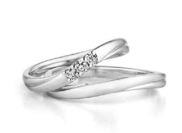 ウェーブ|結婚指輪|結婚式|指輪