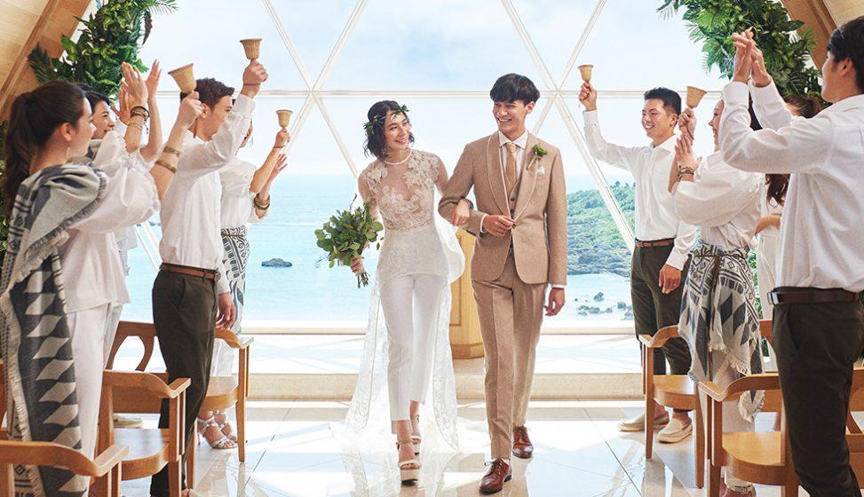 人気リゾート結婚式|奏・葵の教会|B