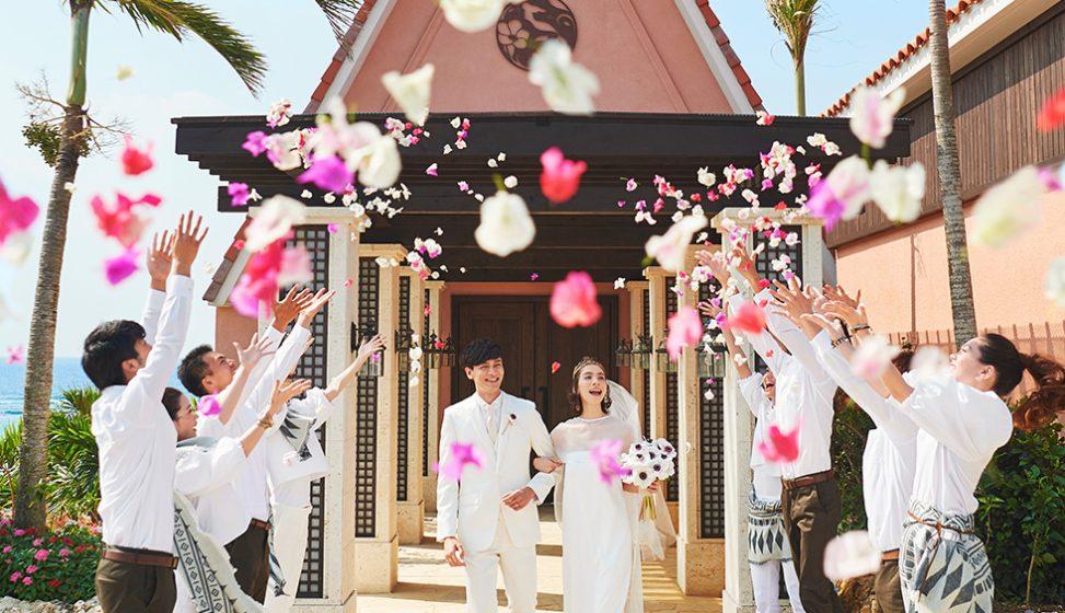 人気リゾート結婚式|奏・葵の教会|E