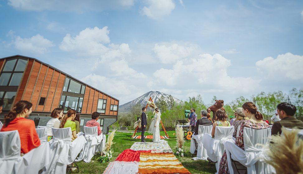 札幌の人気結婚式場|ニセコパノラマ|E