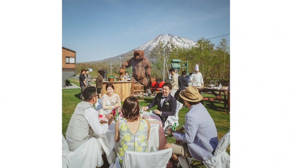 札幌の人気結婚式場|ニセコパノラマ|B