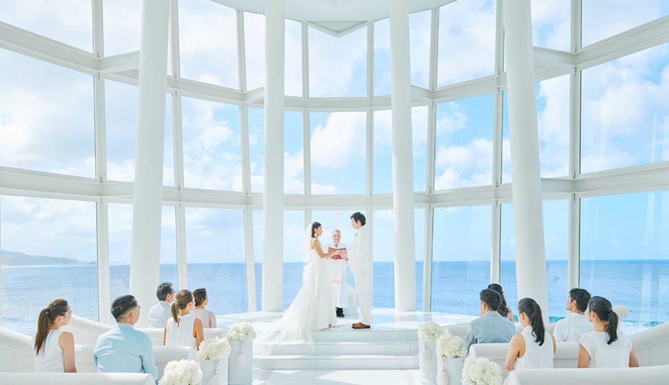 人気リゾート結婚式 ホワイトアロウチャペル B