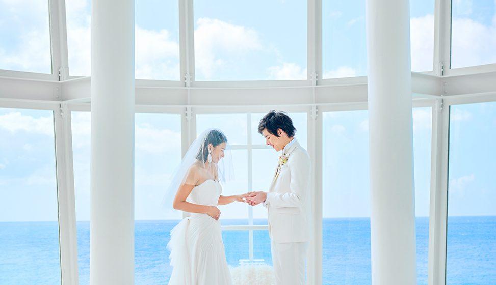 人気リゾート結婚式 ホワイトアロウチャペル C