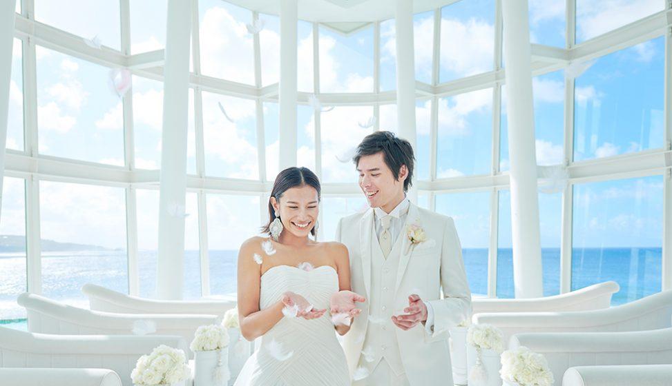 人気リゾート結婚式 ホワイトアロウチャペル D