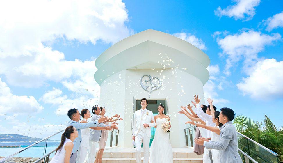 人気リゾート結婚式 ホワイトアロウチャペル F