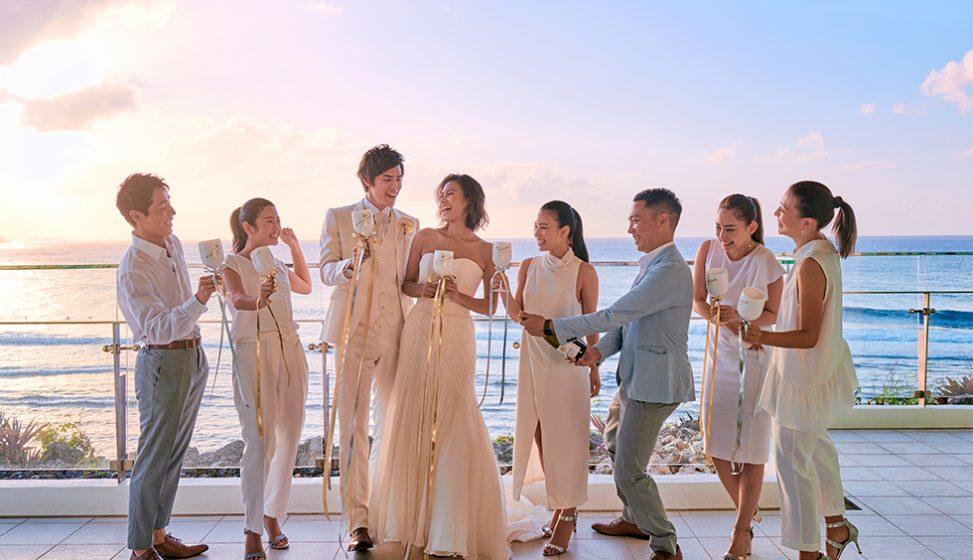人気リゾート結婚式 ホワイトアロウチャペル J