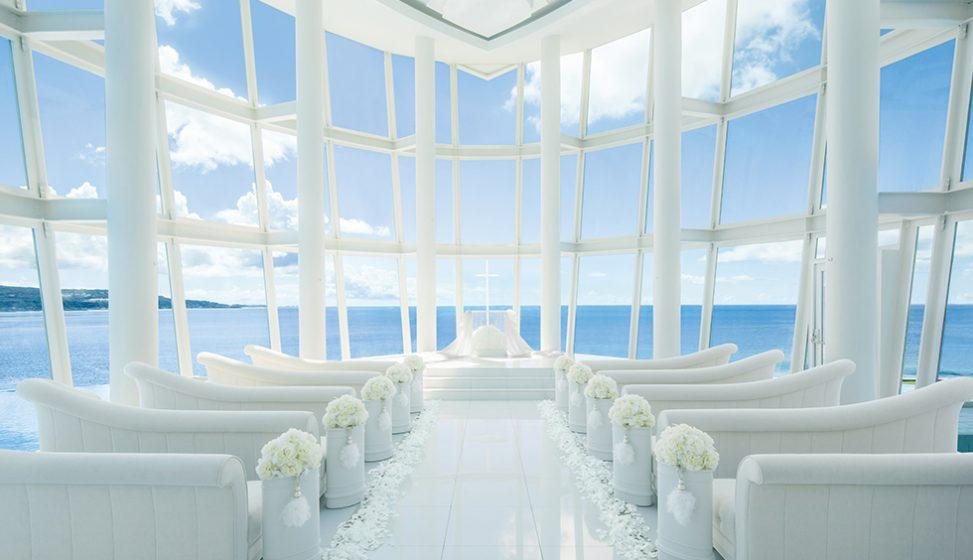 人気リゾート結婚式 ホワイトアロウチャペル A