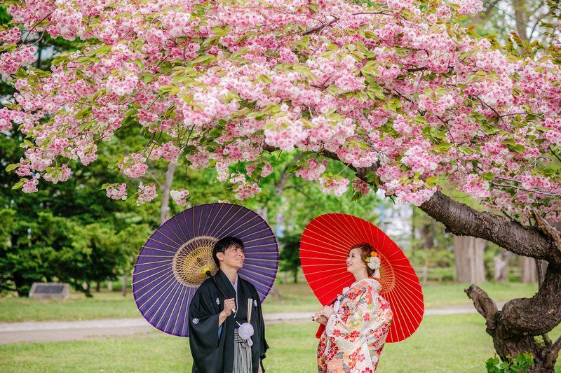 色打掛 結婚式 和装