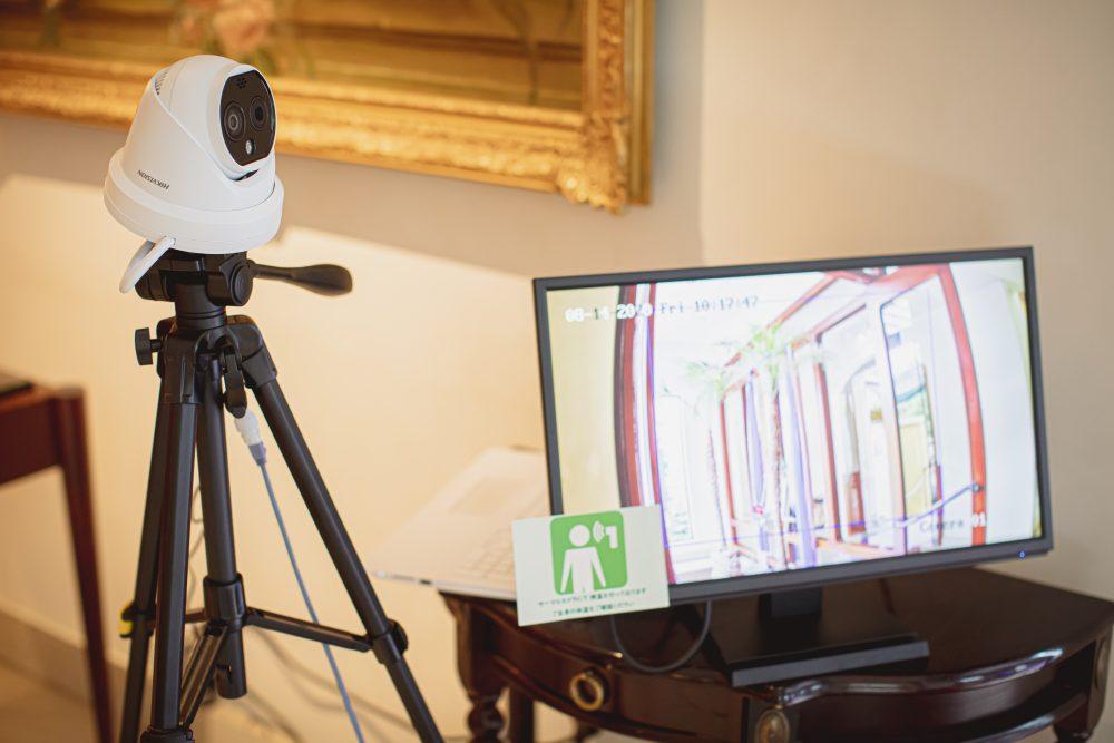 検温サーマルカメラ|結婚式場のコロナ対策