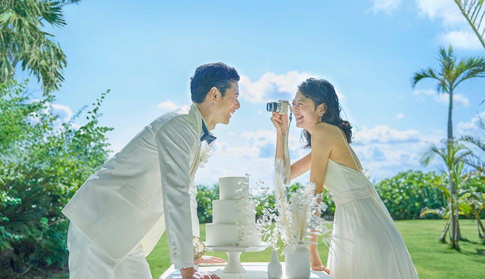 人気リゾート結婚式 ザ・ギノザリゾート 美らの教会 J