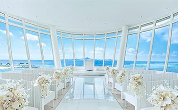 人気リゾート結婚式|白の教会|K