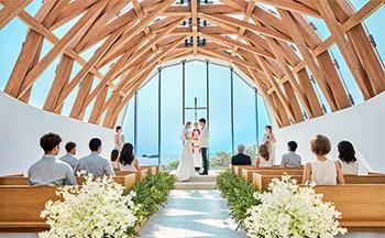 人気リゾート結婚式|瀬良垣島教会|K