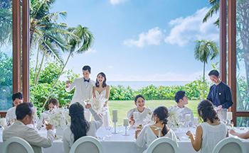 人気リゾート結婚式 ザ・ギノザリゾート 美らの教会 L