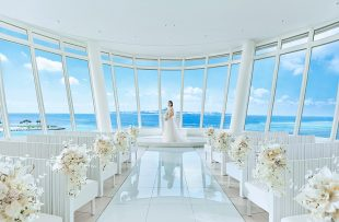 人気リゾート結婚式|白の教会|A