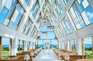 人気リゾート結婚式|ザ・ギノザリゾート 美らの教会|A