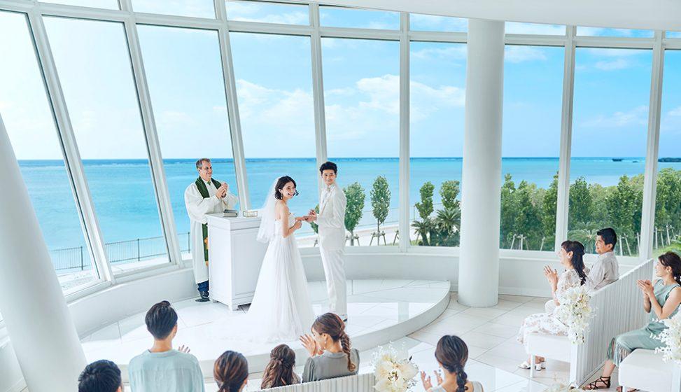 人気リゾート結婚式|白の教会|B
