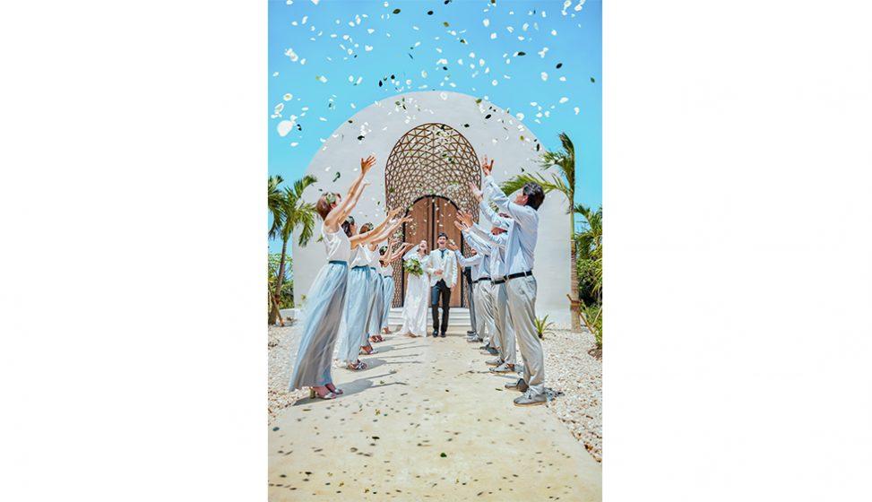 人気リゾート結婚式|瀬良垣島教会|C