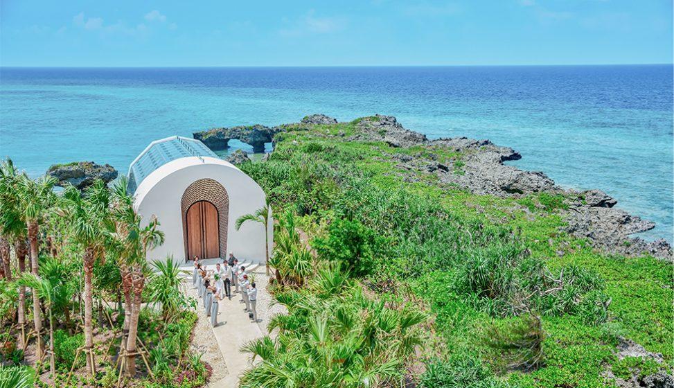人気リゾート結婚式|瀬良垣島教会|D