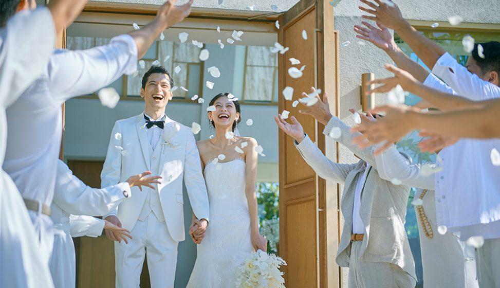 人気リゾート結婚式 ザ・ギノザリゾート 美らの教会 D