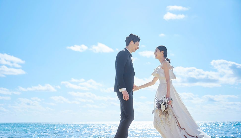 人気リゾート結婚式 ザ・ギノザリゾート 美らの教会 E