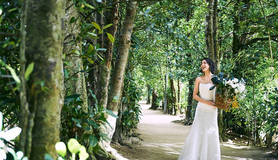 人気リゾート結婚式|白の教会|h