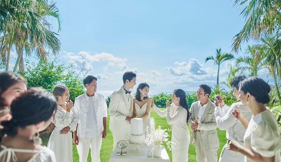 人気リゾート結婚式 ザ・ギノザリゾート 美らの教会 H